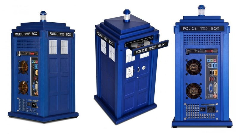 TARDIS Desktop PC: Harness the raw computing power of the Time Vortex