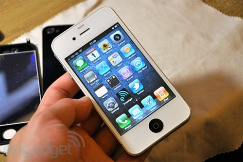 Building Your Own White iPhone 4
