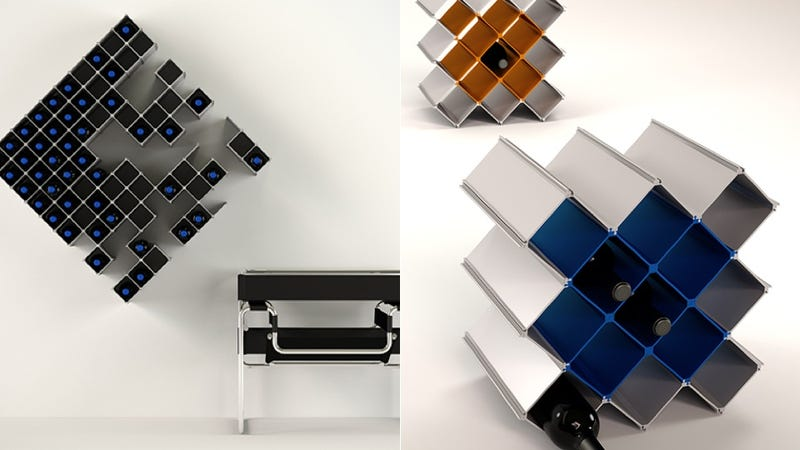 A Modular, Fully Customizable Wine Rack For Every Type of Drinker