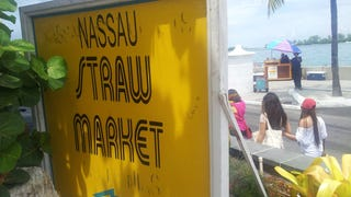 As Nach Navigates... on foot, wandering aimlessly through Nassau