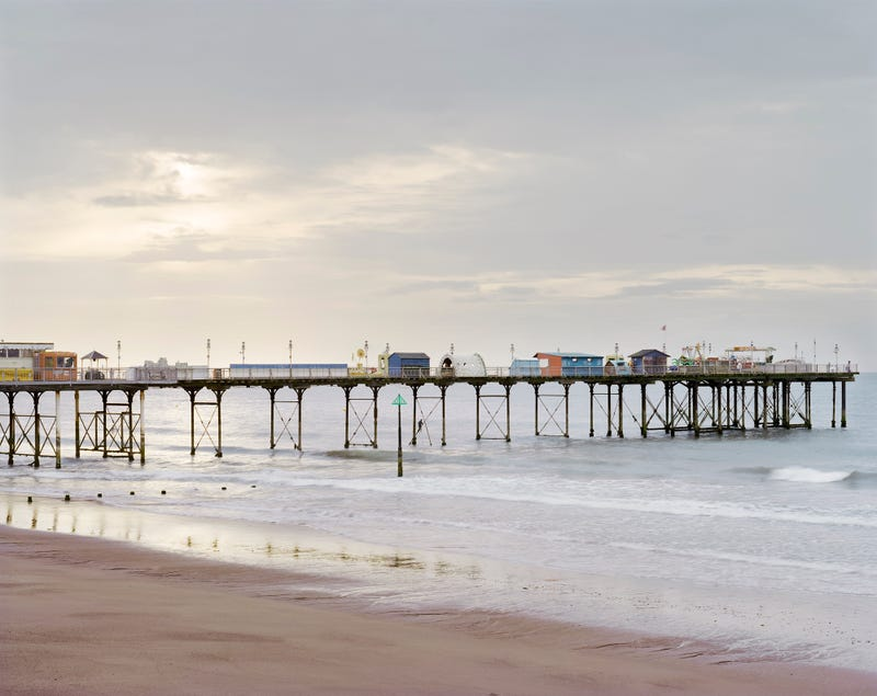 Remembering The Rusted, Crumbling Piers Of Seaside Britain