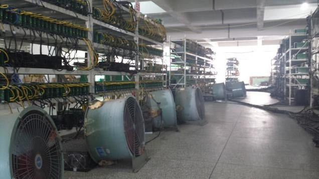 Inside a Bitcoin Mine in Rural China
