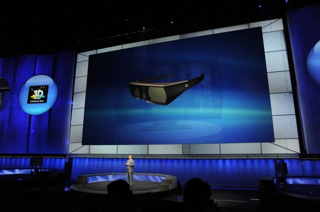 The PlayStation Branded 3D Display