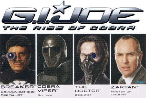 Leaked 'G.I. Joe' Art Suggests Movie Actually Being Made By 8-Year-Olds