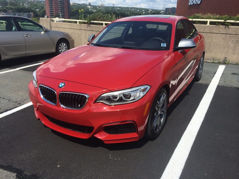 Delivery: BMW M235i