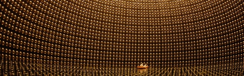 What are neutrinos, and how do they come from beyond our solar system?