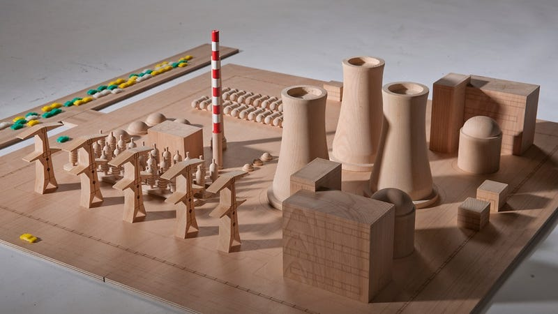 What Kid Wouldn't Want This Nuclear Power Plant Playset?