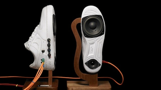 Walk to the Beat of These Sneaker Speakers
