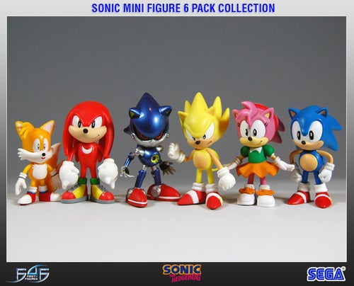 First 4 Figures Gives You A Little Sonic And Friends