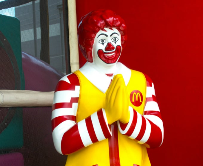 McDonald's is Hosting Wedding Receptions in Hong Kong