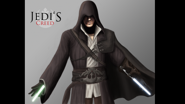 Take Assassin's Creed, Mass Effect and Other Gaming Greats, add Jedi