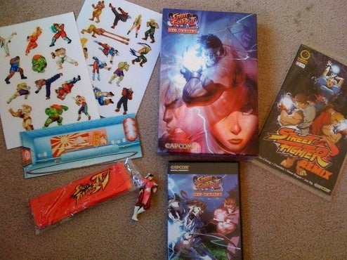Capcom's Amazing Street Fighter II HD Remix Goodies