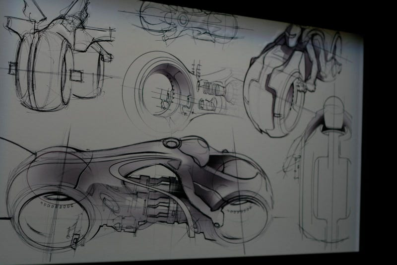 Tron's Light Cycles Could Have Looked Much Stranger