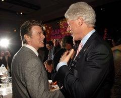 Bill Clinton Canvasses Nobu