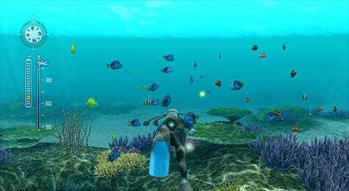 Endless Ocean: Blue World Gameplay Is All Wet