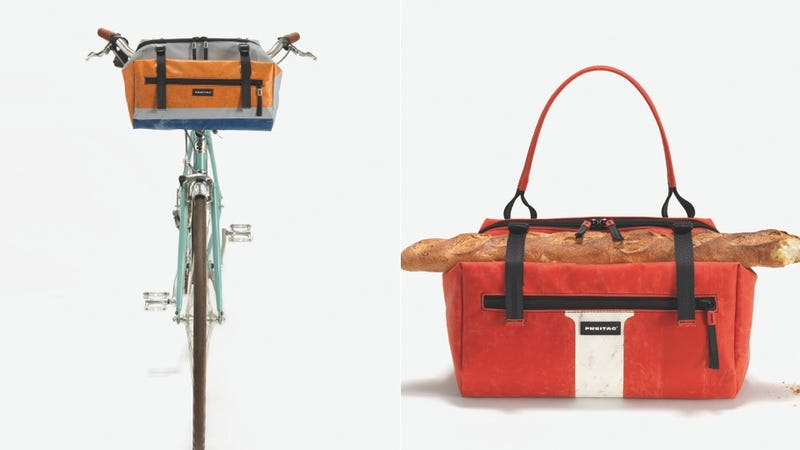Bicycle Handlebar Bag Mutates Into Carry-All Purse
