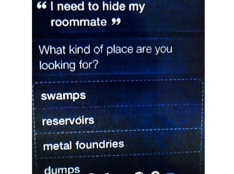 Murder Suspect Didn't Really Ask Siri Where to Hide Roommate's Body