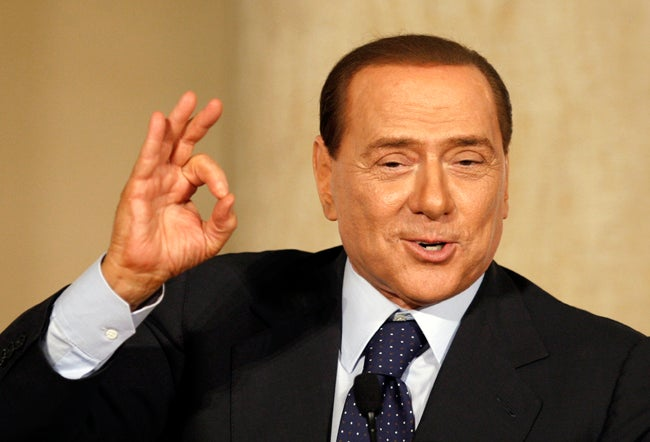 Berlusconi 'Not Worried' About Bunga Bunga Trial