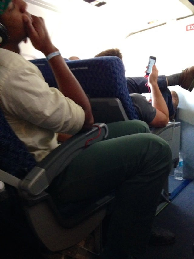 If Hasheem Thabeet Sits Behind You In Coach, Don't Recline Your Seat [Update: Not Him]