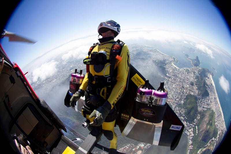 Flying High: Jetman Talks Flight, Fear, and What's Next