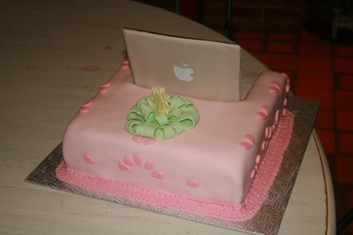 Let Them Eat Cake... Macbook Cake