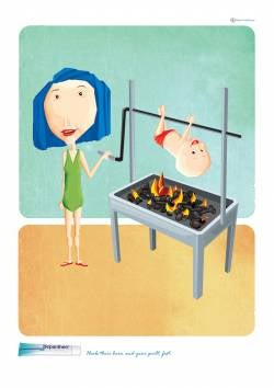 Bayer: Barbecuing Babies Guilt-Free