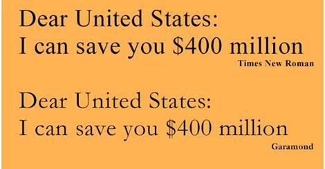Teenager Proffers Way to Save U.S. Gov't $400+ million