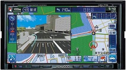 Hard Disk Speeds Up Kenwood GPS Navigation Unit