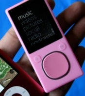 Pink 8GB Zune for $165 from Amazon