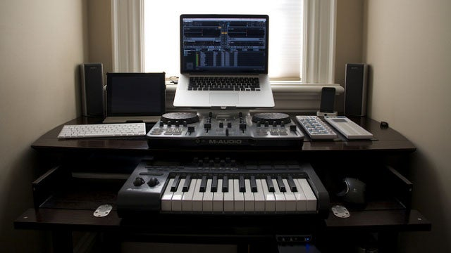 The Mixing Station Workspace