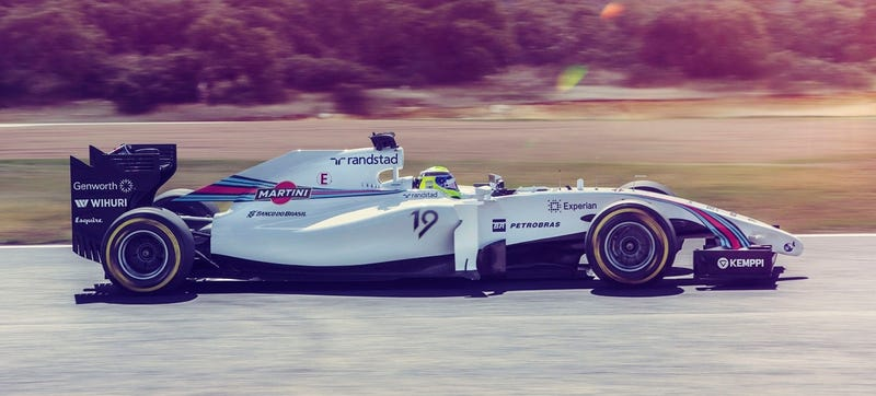 Behold The Stunning Beauty Of The Martini Williams F1 Car