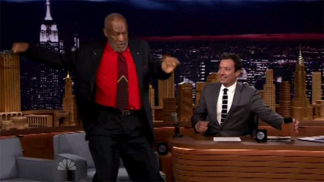 Watch Bill Cosby's Out-of-Control Fallon Appearance