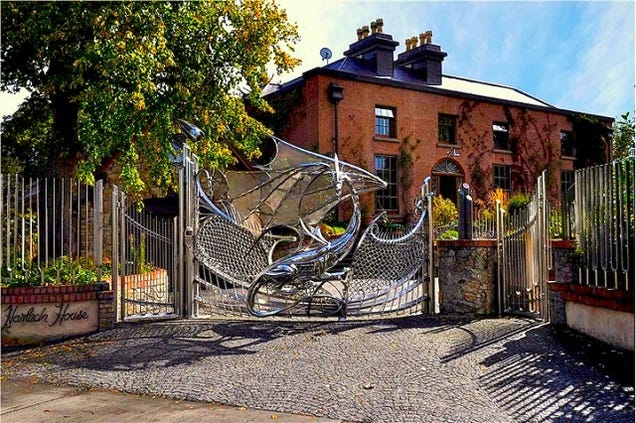 House Guarded By Dragon Gate Can Be Yours For Only 2.4 Million Euros