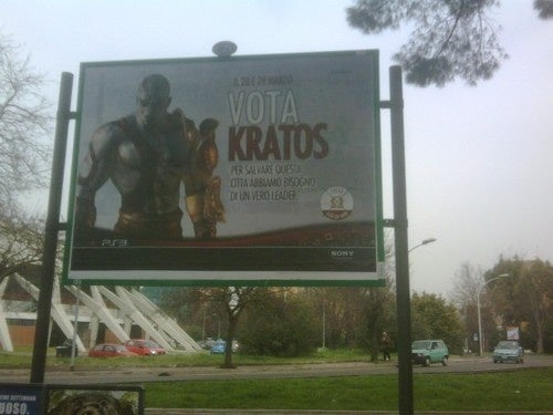 Vote Kratos, Forza Italia!
