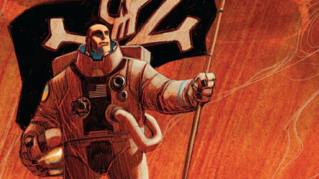 Read a five-page preview of Spaceman, one of the year's best science fiction comics