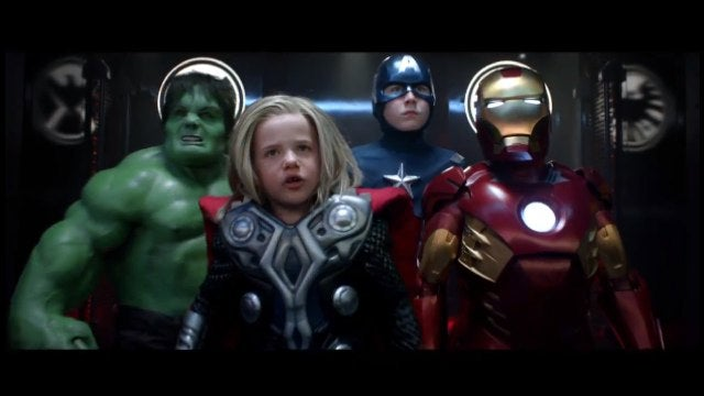 The Baby Avengers are so cute, your eyes will bleed
