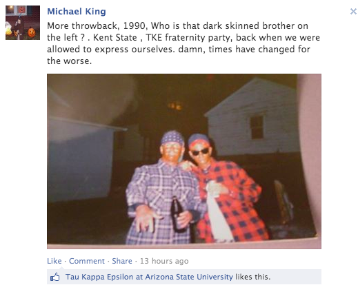Arizona State Expels Frat Responsible for Racist MLK Day Party