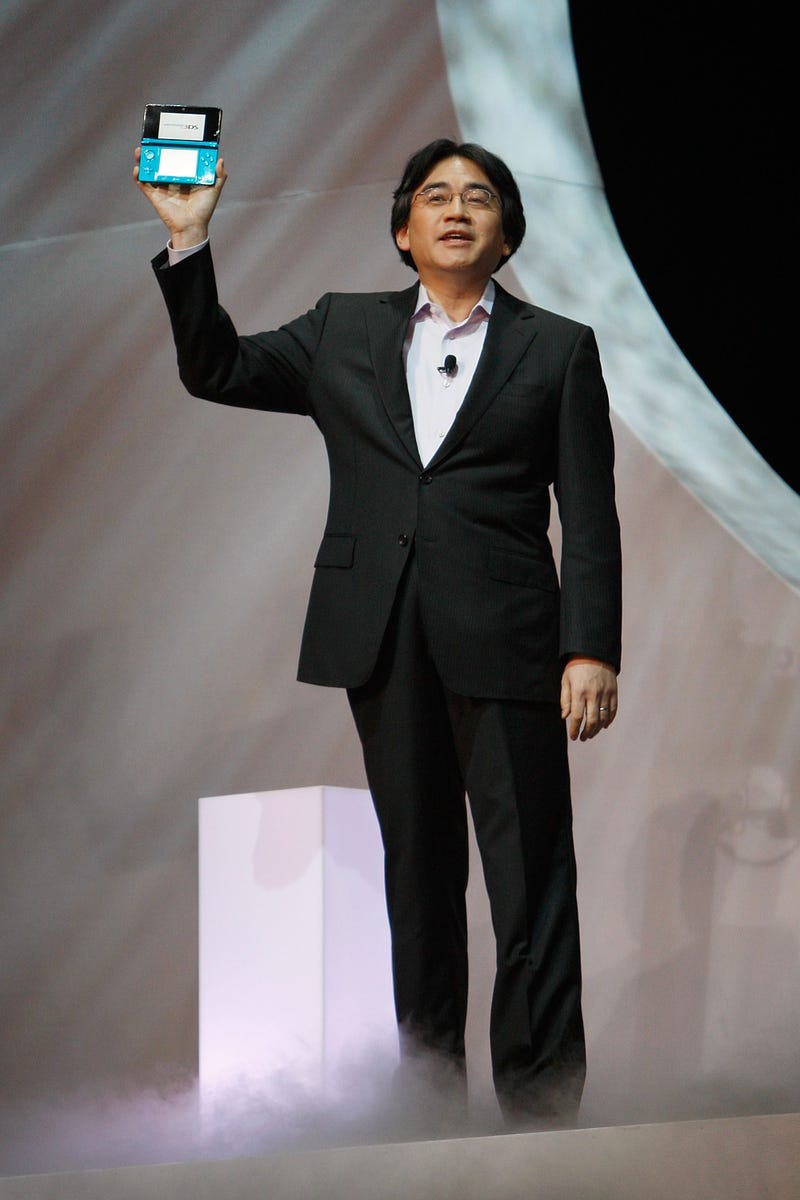 Unintimidated By Apple, Nintendo's Boss Says The World Still Needs Dedicated Gaming Handhelds