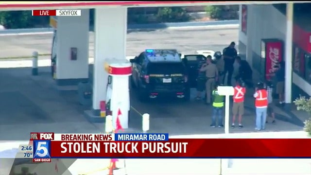 Truck Driver On Run From Police Drives Into Circle K, Somehow Escapes