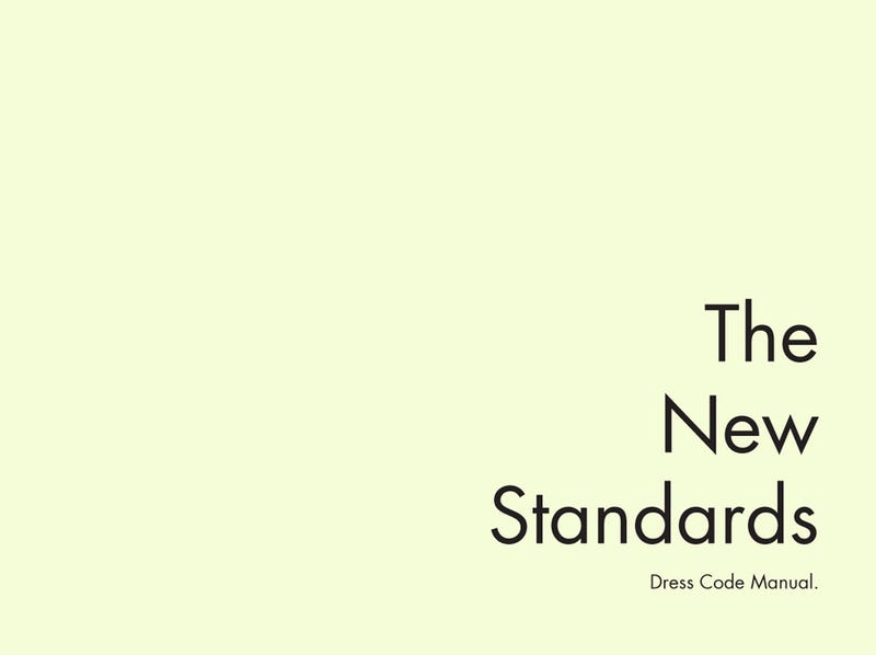 American Apparel: The Complete 'New Standards' Dress Code Manual
