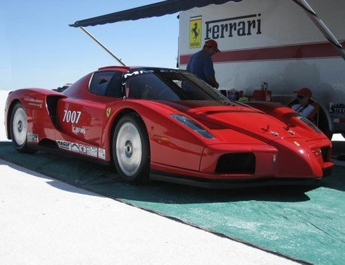 Twin-Turbo Enzo Spins Off Course During 188 MPH Test
