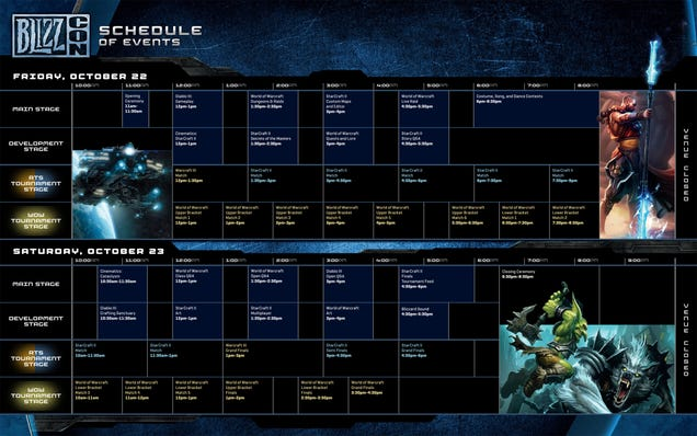 Blizzcon 2010 Schedule Has Diablo III, No New StarCraft
