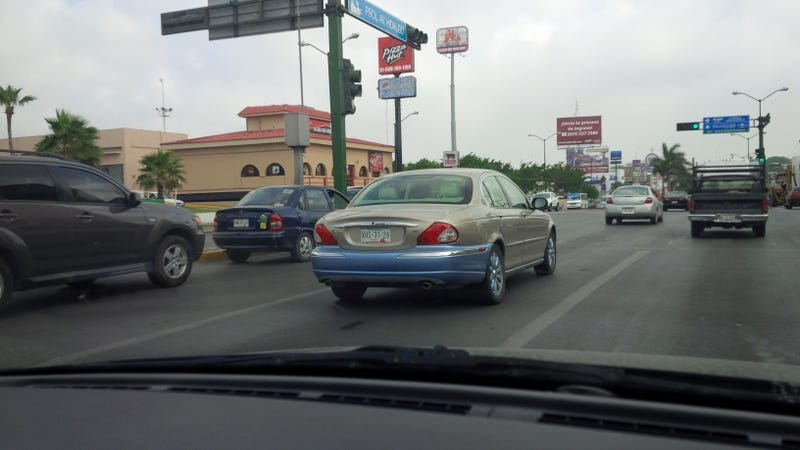 2 Tone Jaguar X-Type? Two Tone Jaguar X Type!