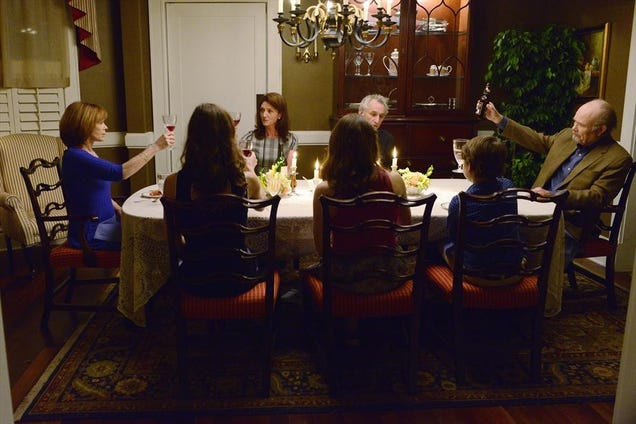 Resurrection's Most Awkward Family Dinner Has 3 Generations of the Dead