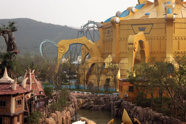 Well, the World of Warcraft/StarCraft Theme Park Actually Opened