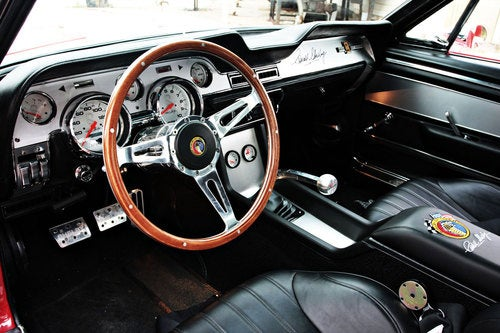 Classic Recreations 1967 Shelby GT500CR: Interior And Detail Photos