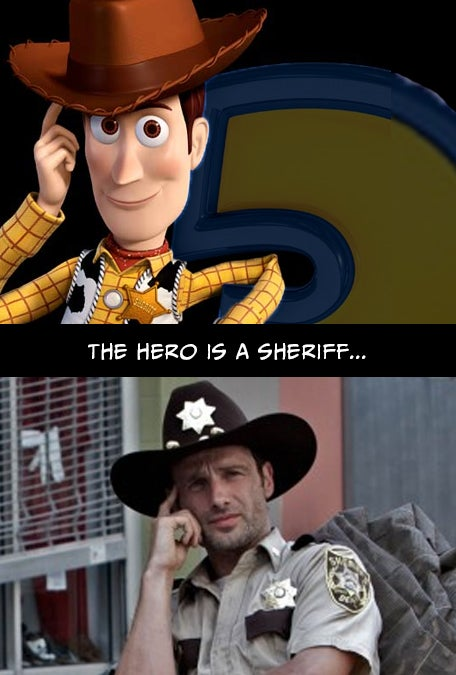 Proof that Toy Story and The Walking Dead are basically the exact same story