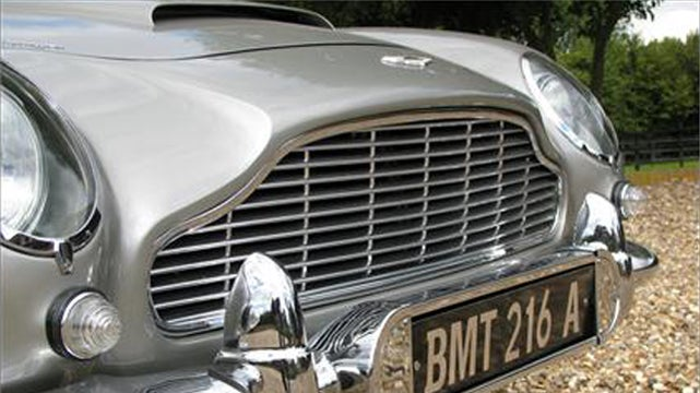 James Bond's Aston Martin DB5 Is For Sale
