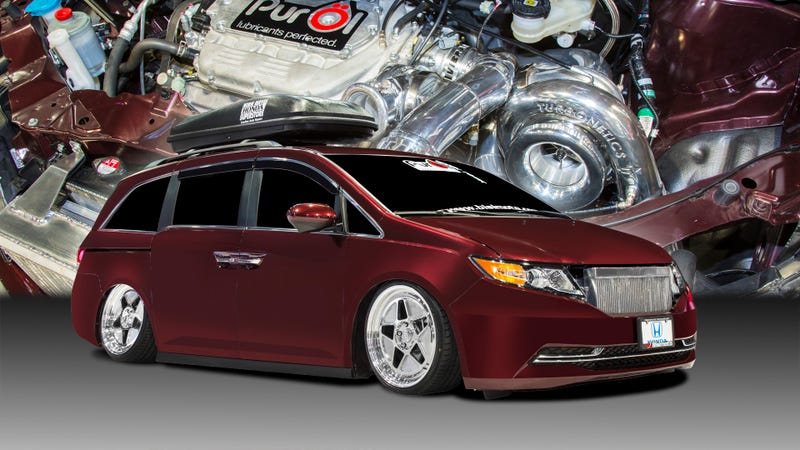 This Is A 1,029 Horsepower Honda Minivan