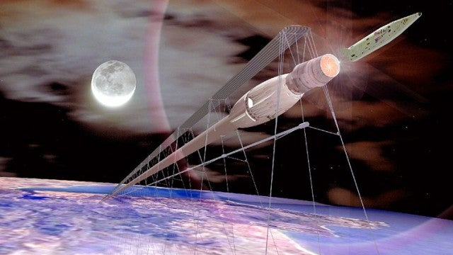 We already have the technology to send trains into space, at a fraction of the cost of rockets